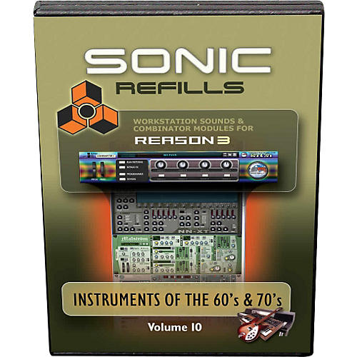 Sonic Reality Reason 3 Refills Vol. 10: Instruments of the '60s and '70s-thumbnail