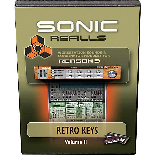 Sonic Reality Reason 3 Refills Vol. 11: Retro Keys