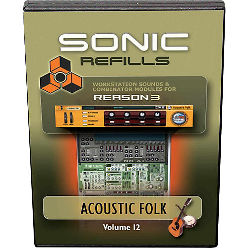 Sonic Reality Reason 3 Refills Vol. 12: Acoustic Folk