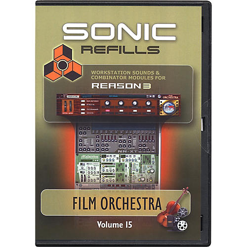 Sonic Reality Reason 3 Refills Vol. 15: Film Orchestra