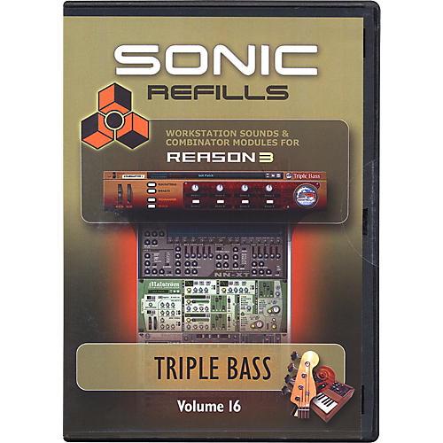 Sonic Reality Reason 3 Refills Vol. 16: Triple Bass