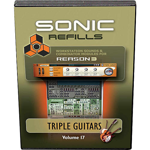 Sonic Reality Reason 3 Refills Vol. 17: Triple Guitars-thumbnail