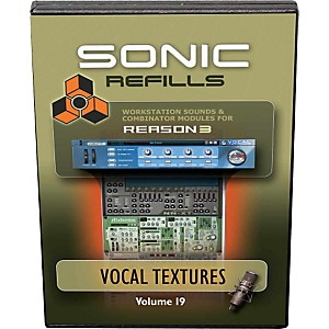 Sonic Reality Reason 3 Refills Vol. 19: Vocal Textures
