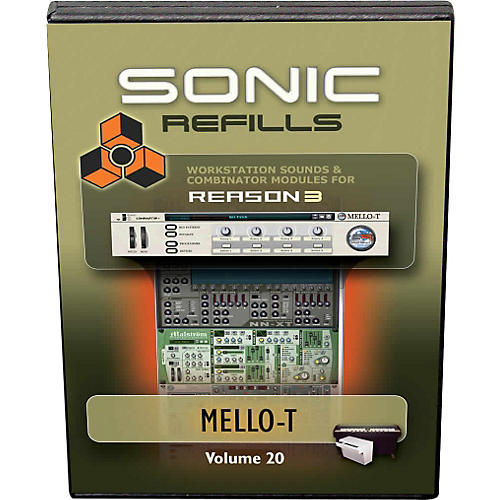 Sonic Reality Reason 3 Refills Vol. 20: Mello-T