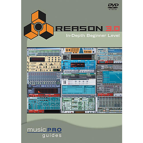 Hal Leonard Reason 3.0 In-Depth Beginner Level DVD