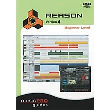 Hal Leonard Reason 4 Beginner Level - Music Pro Series (DVD)