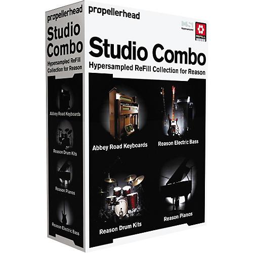 Propellerhead Reason 4 Studio Combo Bundle-thumbnail