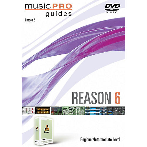 Hal Leonard Reason 6 Beginner/Intermediate Music Pro Guides DVD-thumbnail