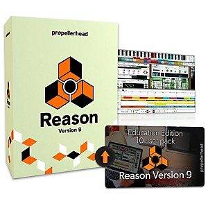 Propellerhead Reason 9.5 EDU 10 User Pack Upgrade by Propellerhead