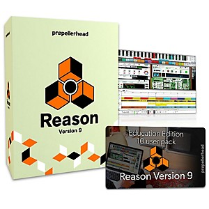 Propellerhead Reason 9.5 EDU Multi-License Pack 10 Users by Propellerhead