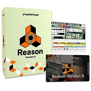 Propellerhead Reason 9.5 EDU Multi-License Pack 5 Users by Propellerhead