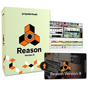 Propellerhead Reason 9.5 EDU Multi-License Upgrade 5 Users by Propellerhead