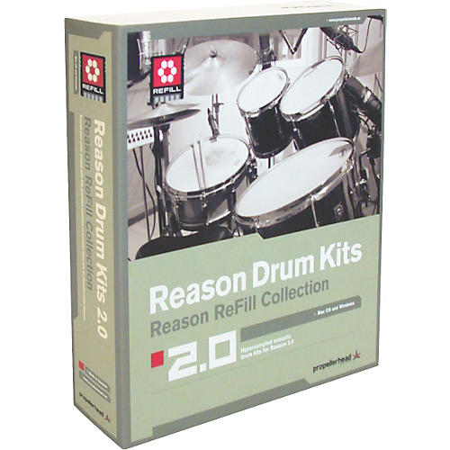 Propellerhead Reason Drum Kits 2.0-thumbnail