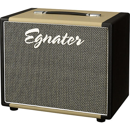 Egnater Rebel 112X 1x12 Guitar Extension Cabinet Black and Beige
