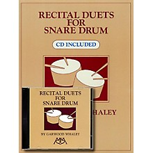 Meredith Music Recital Duets For Snare Drum Book/CD
