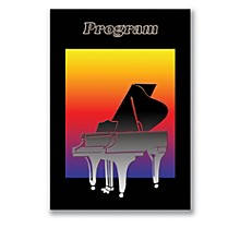 SCHAUM Recital Program #78 - Piano Silhouette Educational Piano Series Softcover