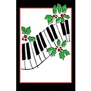 SCHAUM Recital Program Blanks #81 Keyboard & Holly Educational Piano Series Softcover