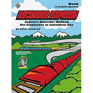 Alfred Recorder Express Beginning Method Book by Alfred
