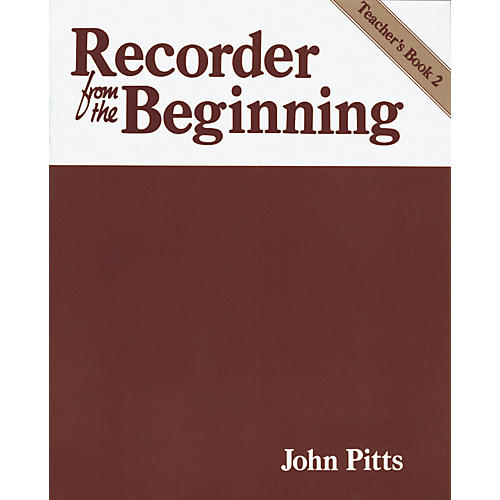 Music Sales Recorder From the Beginning Teacher's Book 2-thumbnail