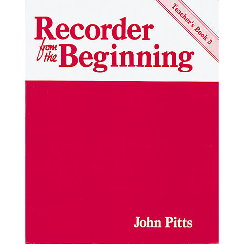 Music Sales Recorder From the Beginning Teacher's Book 3-thumbnail