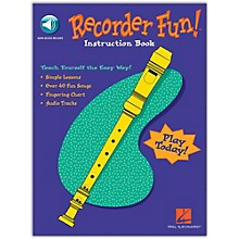 Hal Leonard Recorder Fun - Teach Yourself The Easy Way (Book/Online Audio)