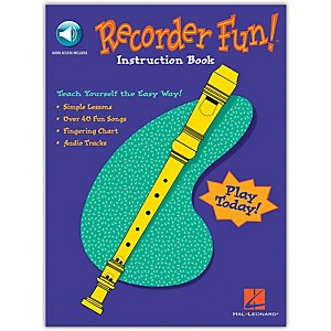 Hal Leonard Recorder Fun - Teach Yourself The Easy Way Book/Online Audio