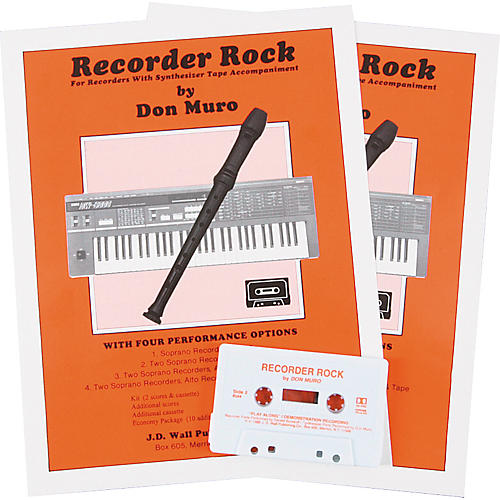 Magnamusic Recorder Rock 2 Scores with Cassette-thumbnail
