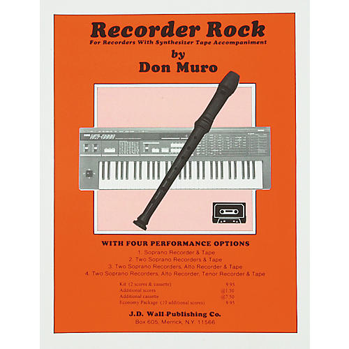 Magnamusic Recorder Rock Economy Pack- 10 Scores
