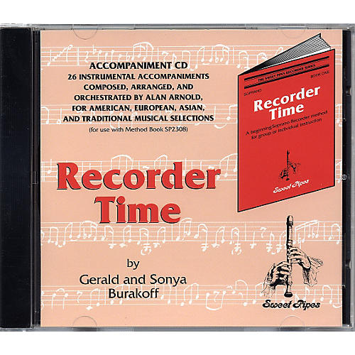 Rhythm Band Recorder Time Accompaniment CD-thumbnail