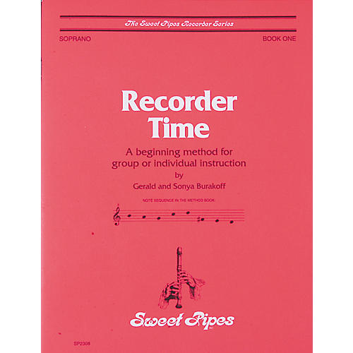 Sweet Pipes Recorder Time Book 1