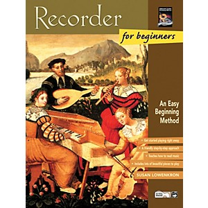 Alfred Recorder for Beginners Book/CD by Alfred