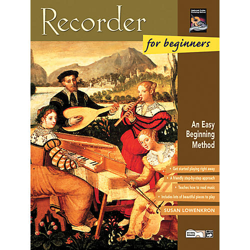 Alfred Recorder for Beginners Book/CD-thumbnail