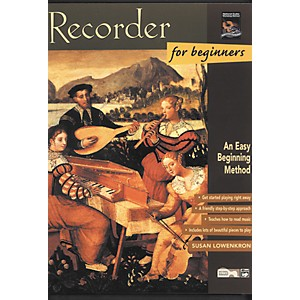 Alfred Recorder for Beginners Book by Alfred