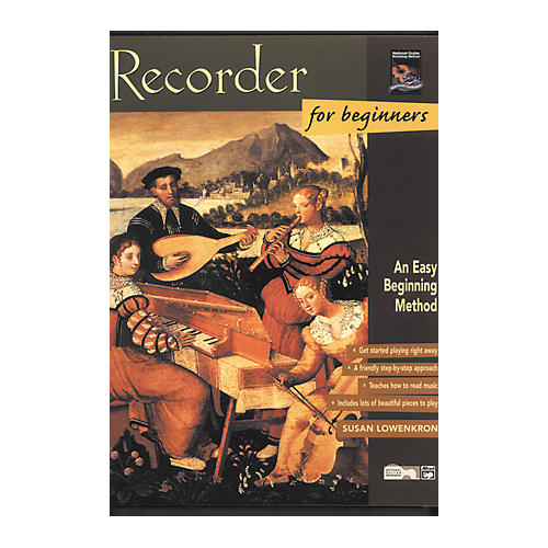 Alfred Recorder for Beginners (Book)-thumbnail