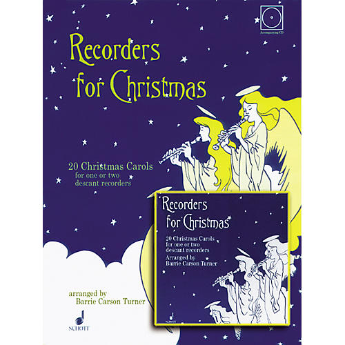Alfred Recorders for Christmas with CD-thumbnail