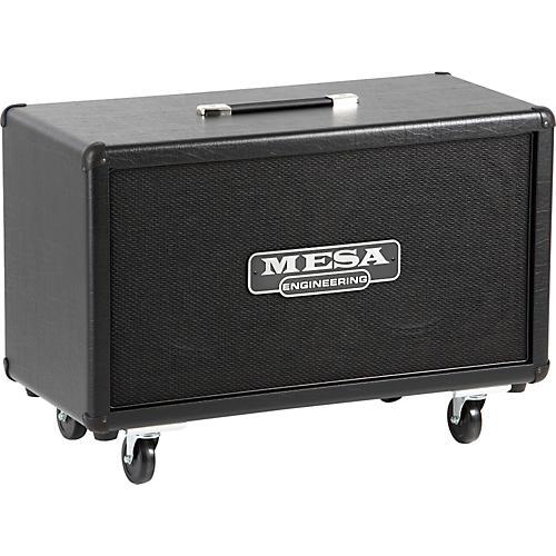 mesa boogie rectifier 120w 2x12 horizontal guitar speaker cabinet black straight guitar center. Black Bedroom Furniture Sets. Home Design Ideas