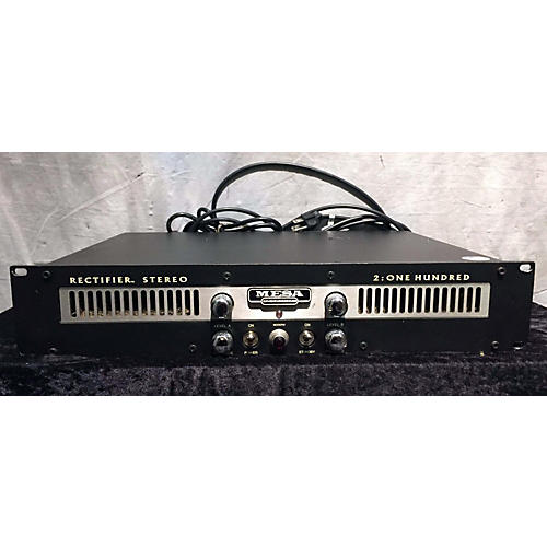 Mesa Boogie Rectifier 2-100 Stereo Tube Guitar Amp Head-thumbnail