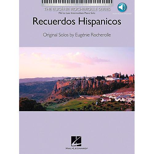 Hal Leonard Recuerdos Hispanicos Book/CD Mid/Late Intermediate Piano Solo - Eugenie Rocherolle Series-thumbnail
