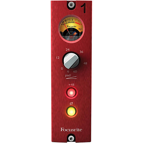 Focusrite Red 1 500 Series Microphone Pre-thumbnail