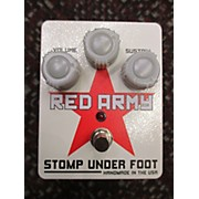 Stomp Under Foot Red Army Effect Pedal