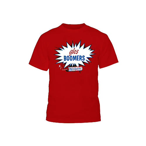 GHS Red Boomers T-Shirt-thumbnail