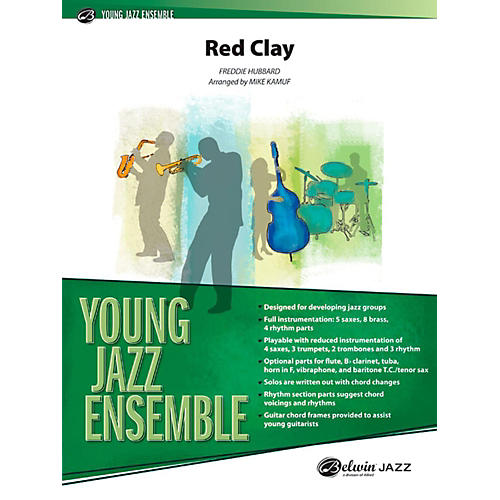 Alfred Red Clay Jazz Band Grade 2