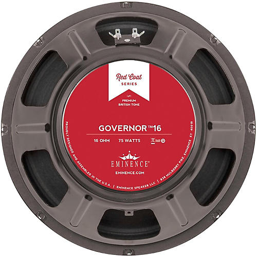 Eminence Red Coat The Governor 12
