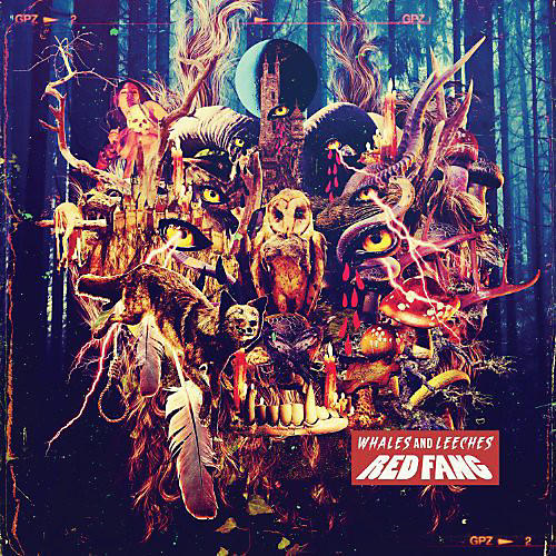 Alliance Red Fang - Red Fang : Whales & Leeches Deluxe (Coke Bottle Green)