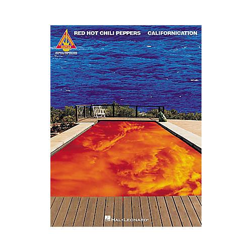 Hal Leonard Red Hot Chili Peppers Californication Guitar Tab Book