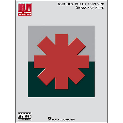 Hal Leonard Red Hot Chili Peppers Greatest Hits Drum Recorded Versions