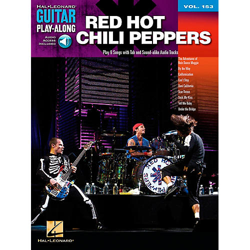 Hal Leonard Red Hot Chili Peppers Guitar Play-Along Volume 153 Book/CD-thumbnail