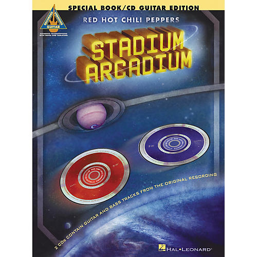 Hal Leonard Red Hot Chili Peppers Stadium Arcadium Special Edition Guitar Tab Songbook with 2 CDs-thumbnail