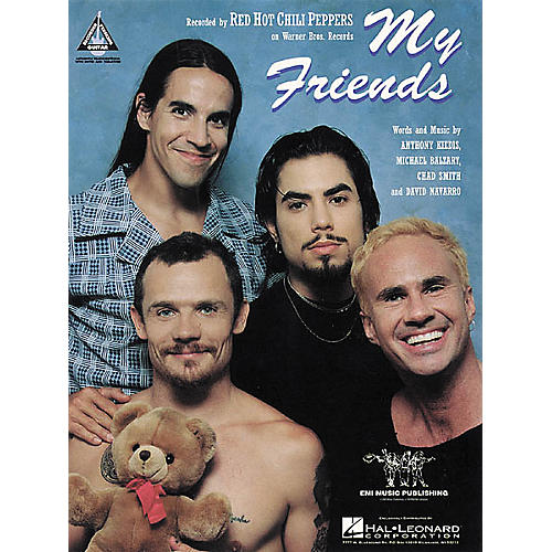 Hal Leonard Red Hot Chilli Peppers: My Friends Guitar Sheet Music Book