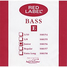 Super Sensitive Red Label 1/4 Size Double Bass Strings